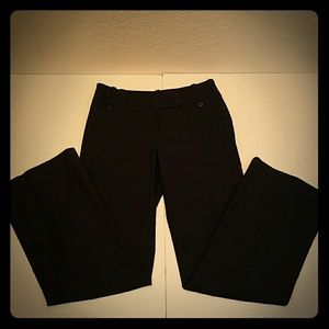 Ann Taylor Lindsay black dress pants lined sz 0